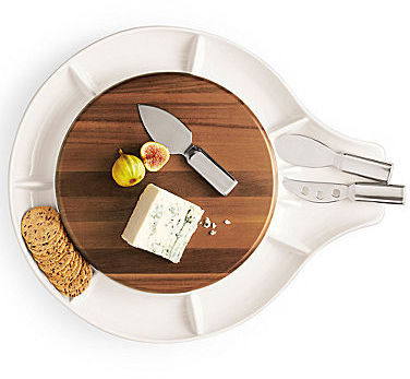 Michael Graves Design Cheese and Cracker Server