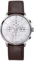Junghans 027/4120.01 Leather Strap Watch, Brown