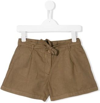 Maan Gazelle front-tie shorts
