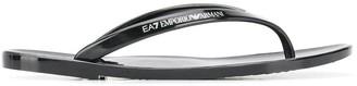 Ea7 Emporio Armani Logo Flip Flops