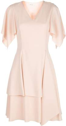ADEAM flutter sleeve dress