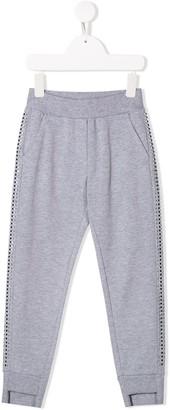 MonnaLisa Side Stud Track Pants