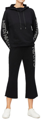 Calvin Klein Performance Logo Drop Shoulder V-Inset Hoodie PF0T3191