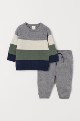 H&M Sweater and Pants - Gray