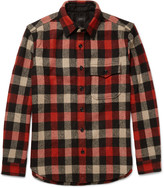 J.crew - Plaid Wool-blend Overshirt