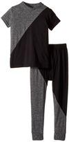 Nununu 1/2 and 1/2 Loungewear Kid's Pajama Sets