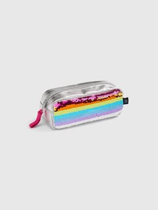 Gap Kids Rainbow Flippy Sequin Pencil Case