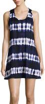 Porto Cruz Tie Dye Jersey Swimsuit Cover-Up Dress