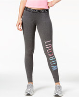 Material Girl Active Juniors' Graphic Leggings, Only at Macy's