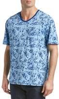 Robert Graham V-neck T-shirt.