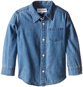 DL1961 Kids - Franklyn Chambray Shirt Boy's Clothing