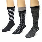 Muk Luks 3-pk. Crew Socks