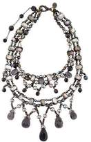 Erickson Beamon Pearl Double Strand Embellished Necklace