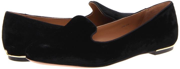 Rachel Zoe Zahara (Black Embossed Velvet) - Footwear