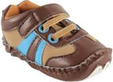 Luvable Friends Brown Explorer Sneaker - Infant