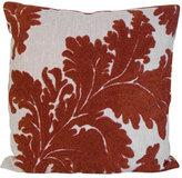 Vincenza Leaf Burnt Orange Pillow
