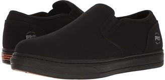 Timberland Disruptor Alloy Safety Toe EH Slip-On (Black/Black Canvas) Men's Work Boots