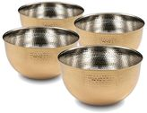 Cambridge Silversmiths 4-pc. Hammered Gold 5.5-in. Mixing Bowl Set