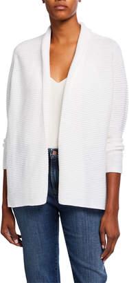 Eileen Fisher Textured Organic Linen/Cotton Kimono Cardigan