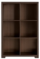 Threshold 6-Cube Vertical Shelf with Feet and Backers - Avington