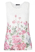Quiz Floral Sleevless Vest Top
