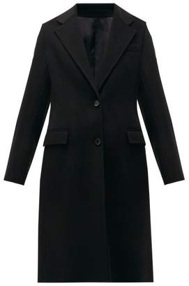Joseph Marly Single-breasted Wool-blend Coat - Womens - Black
