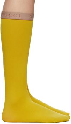 Gucci Yellow Amila Socks