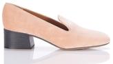 Chloé Kingsley Velvet Loafer