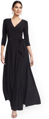 New York & Co. Surplice Maxi Dress