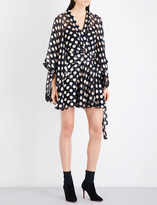 Zimmermann Folly Kimono silk-georgette dress
