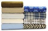 Sunbeam Super Soft Heavyweight Fleece Sheet Set Quadrus, Twin