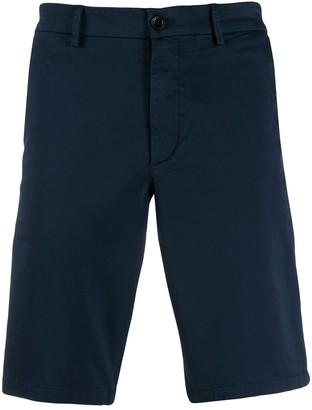 BOSS plain chino shorts