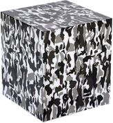 Adolfo Carrara Camouflage Printed Accent Table
