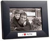 Bed Bath & Beyond I Love My Dog 4-Inch x 6-Inch Frame in Black