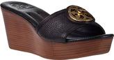Tory Burch Selma Slide Sandal Black Leather