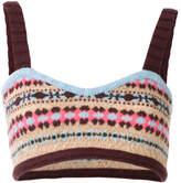 Valentino knitted bralet