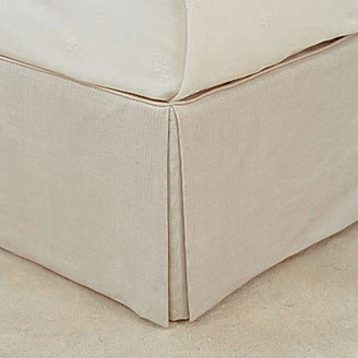 OKA Bed Valance 100% Linen, King Size - Natural