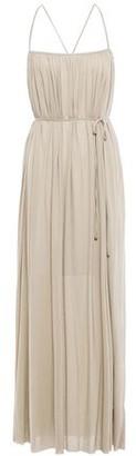 Filippa K Cutout Gathered Jersey Maxi Dress
