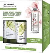 MATRIX BIOLAGE Matrix Biolage Cleansing Conditioner Set for Coarse Hair + Free Mini Dry Shampoo