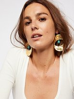 Rising Sun Turquoise Earrings by M.Liz Designs at Free People