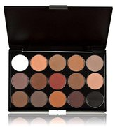 Kingfansion 15 Colors Women Cosmetic Makeup Neutral Nudes Warm Eyeshadow Palette