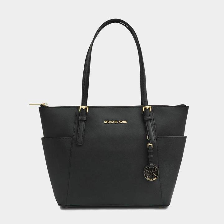 1ec9f22de4ca Michael Kors Jet Set Top-zip Saffiano Tote - ShopStyle UK