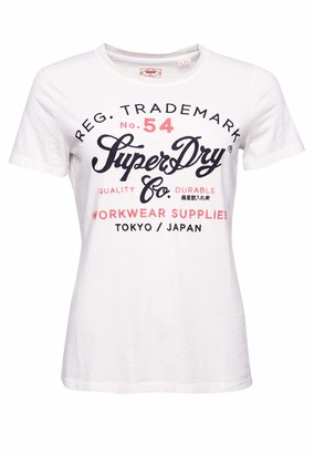 Superdry Women's Crafted Workwear Tee T-Shirt