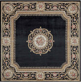 Momeni Atlantis Hand-Carved Wool Square Rug