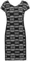 Comma Shift dress grey/black