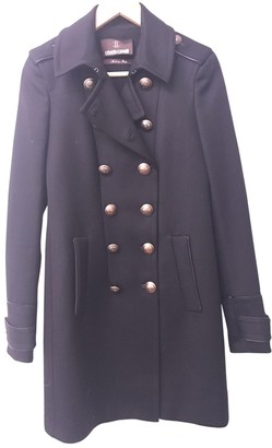 Roberto Cavalli Black Cotton Coat for Women