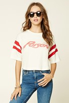Forever 21 FOREVER 21+ Graphic Band Tee