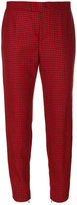 RED Valentino houndstooth cropped trousers