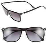 BOSS Men's 57Mm Retro Sunglasses - Brown/ Brown Gradient