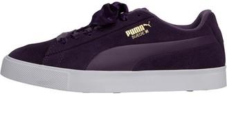 Puma Womens Suede G Golf Shoes Majesty